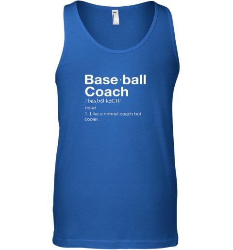 9jjo coach baseball shirt team coaching unisex tank 17 front royal