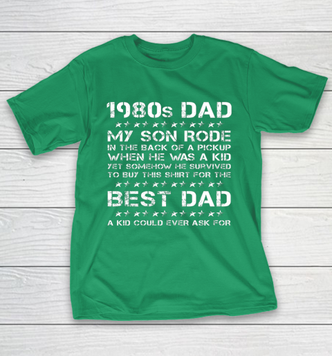 Funny 1980s Dad Boy Dad And Son Father's Day T-Shirt 5