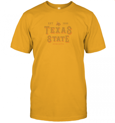 q2u1 texas state bobcats womens college ncaa jersey t shirt 60 front gold