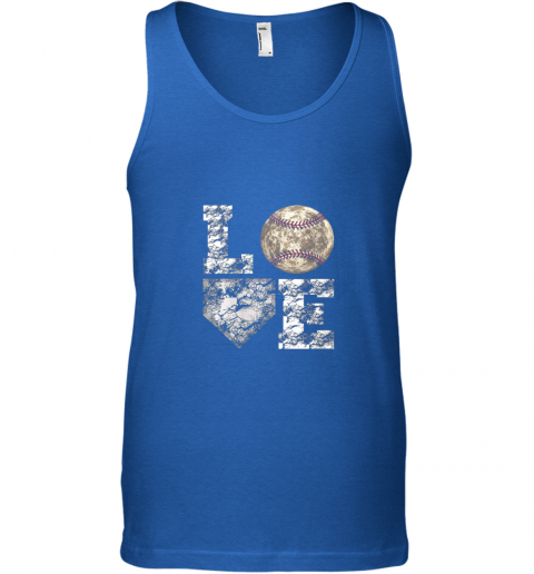 lznh baseball distressed ball cute dad mom love gift unisex tank 17 front royal