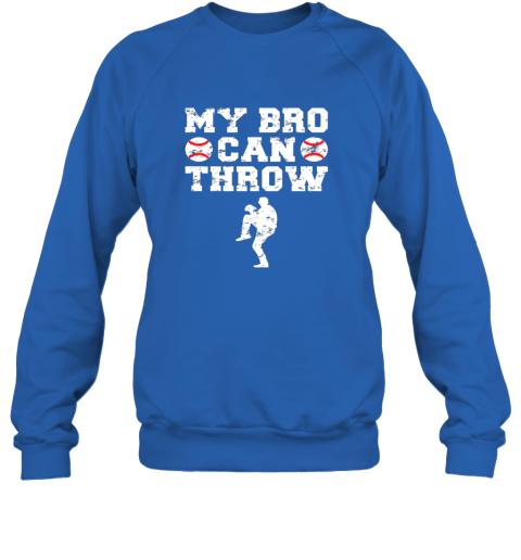 ns4e kids cute baseball brother sister funny shirt cool gift pitcher sweatshirt 35 front royal