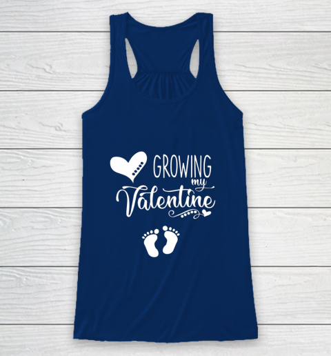 Growing my Valentine Tshirt for Wife Racerback Tank 6