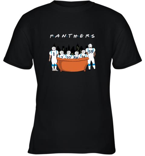 The Carolina Panthers Together F.R.I.E.N.D.S NFL Youth T-Shirt