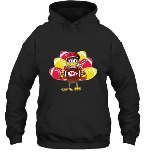 Kansas City Chiefs  Thanksgiving Turkey Football NFL Hoodie