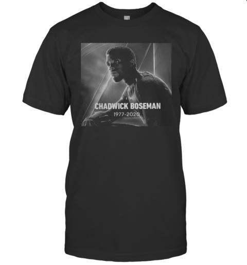 Black Panther Chadwick Boseman 1977 2020 T-Shirt
