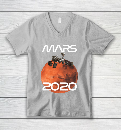 Mars 2020 NASA Rover Mission V-Neck T-Shirt 11