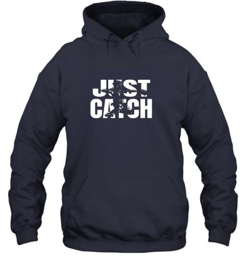 spsr just catch baseball catchers long sleeve shirt baseballisms hoodie 23 front navy