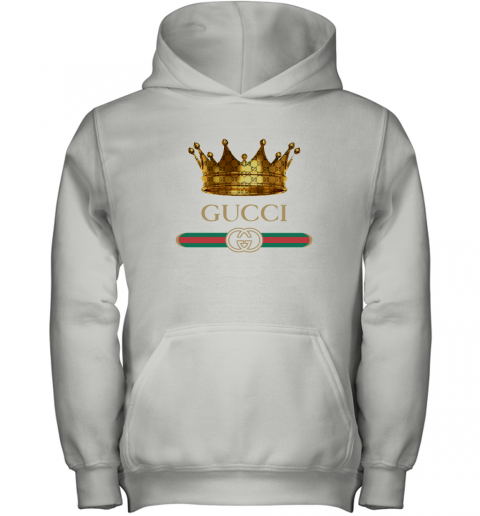 King Gold Gucci Logo Youth Hoodie