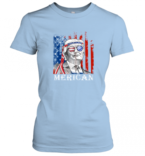 yl3e merica donald trump 4th of july american flag shirts ladies t shirt 20 front light blue