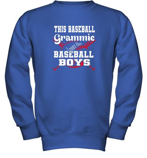 x2yv this baseball grammie loves her baseball boys youth sweatshirt 47 front royal