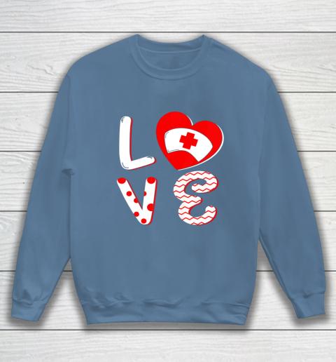 Medical Nurse Valentine Day Shirt Love Matching Sweatshirt 6