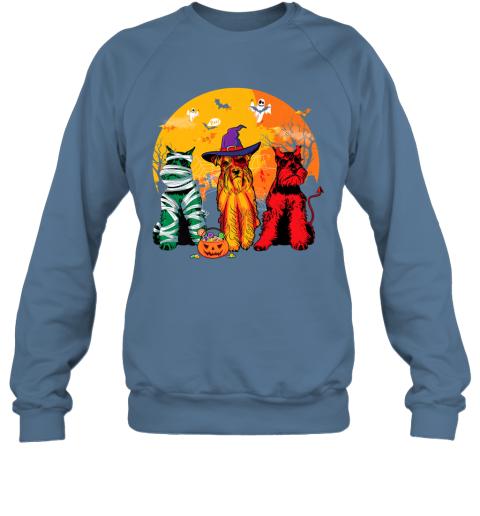 Funny Schnauzer Halloween Costume Shirt Dog lover Gift Premium Sweatshirt