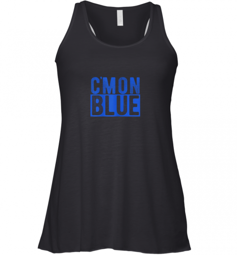 Cmon Blue, Umpire, Baseball Fan Graphic Lover Gift Racerback Tank