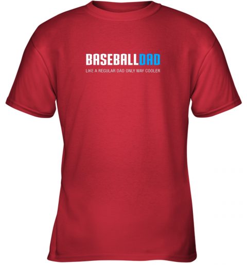 mun8 mens baseball dad shirt funny cute father39 s day gift youth t shirt 26 front red