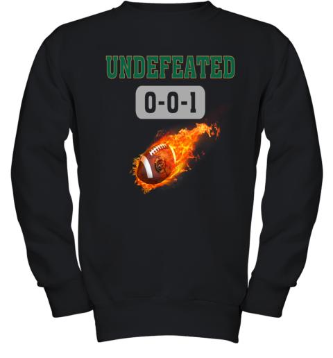 NFL NEW YORK JETS LOGO Undefeated Youth Sweatshirt