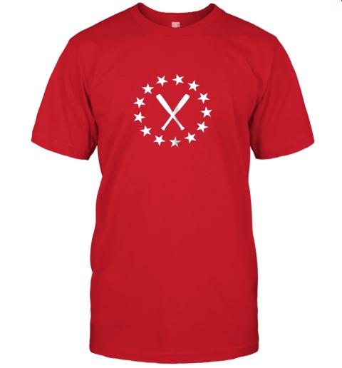 2al1 baseball with bats shirt baseballin player gear gifts jersey t shirt 60 front red