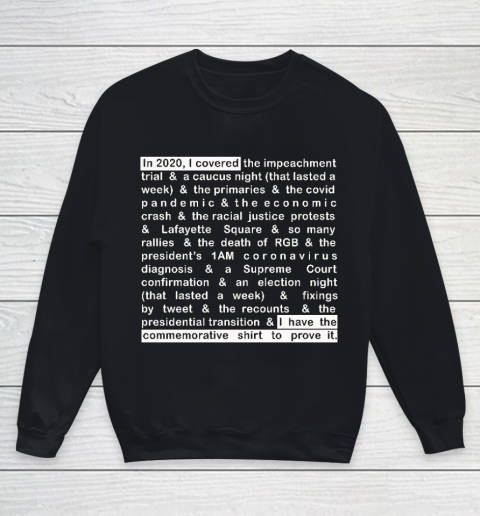 Jim Acosta Youth Sweatshirt 9