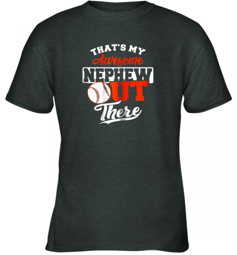 9bt6 that39 s my awesome grandson out there baseball youth t shirt 26 front dark heather
