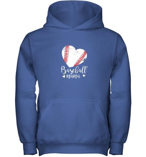 on4n funny baseball nana shirt gift for men women youth hoodie 43 front royal