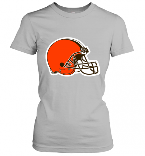 8oqz cleveland browns nfl pro line by fanatics branded brown victory ladies t shirt 20 front sport grey