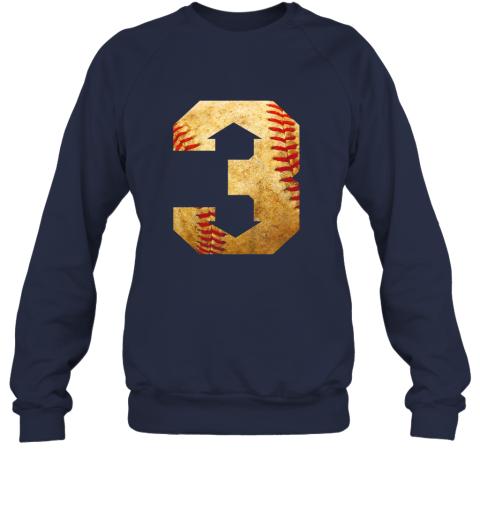 k1lt three up three down baseball 3 up 3 down sweatshirt 35 front navy