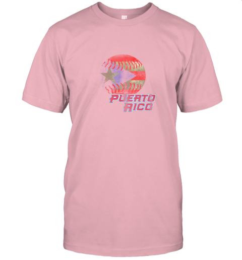 5wvn puerto rico baseball flag shirt boricua pride jersey t shirt 60 front pink