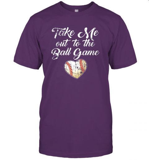 jlux take me out to the ball game shirt baseball mom sister gift jersey t shirt 60 front team purple