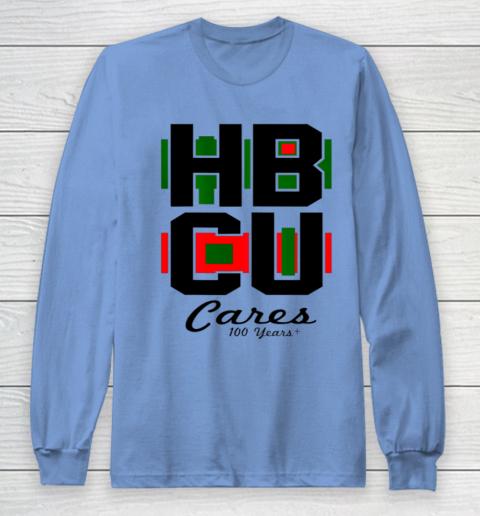 HBCU Cares College University Graduation Gift Black School Long Sleeve T-Shirt 8