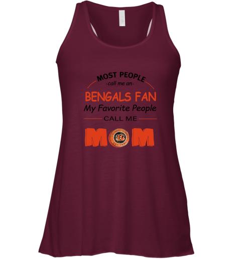q4qh most people call me cincinnati bengals fan football mom flowy tank 32 front maroon