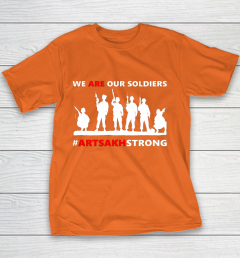 We Are Our Soldiers Youth T-Shirt 12