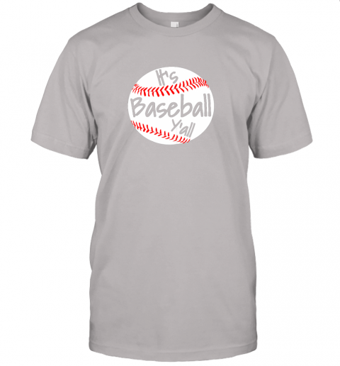 kj4r it39 s baseball y39 all shirt funny pitcher catcher mom dad gift jersey t shirt 60 front ash