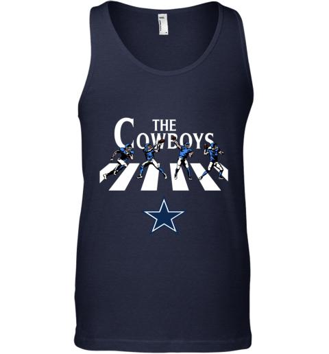 NFL Dallas Cowboys The Beatles Abbey Road Walk Tank Top