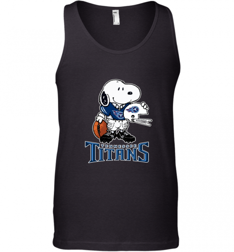 Snoopy A Strong And Proud Tennessee Titans NFL Tank Top