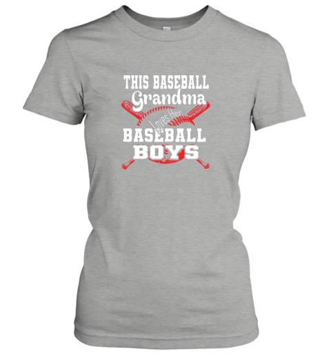 kr43 this baseball grandma loves her baseball boys ladies t shirt 20 front ash