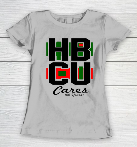 HBCU Cares College University Graduation Gift Black School Women's T-Shirt 3