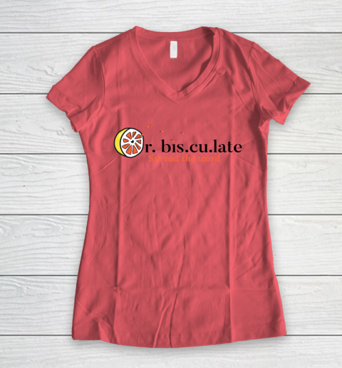 Orbisculate Spread the Word Women's V-Neck T-Shirt 3