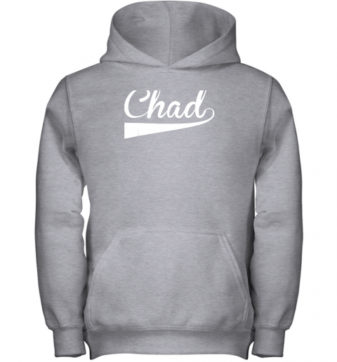 j1we chad country name baseball softball styled youth hoodie 43 front sport grey