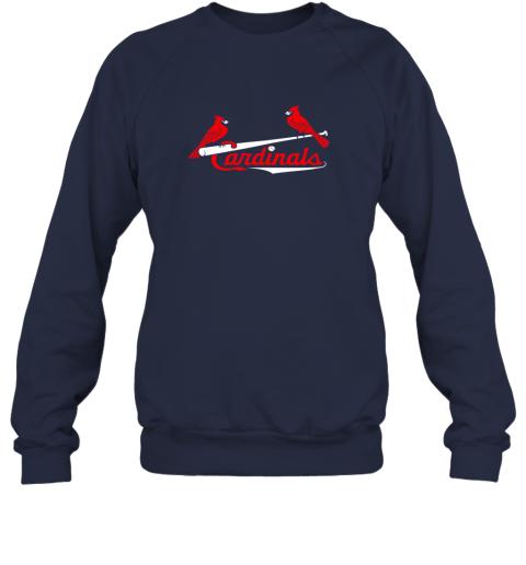 mavq cardinal sports shirtst louis baseball fan sweatshirt 35 front navy