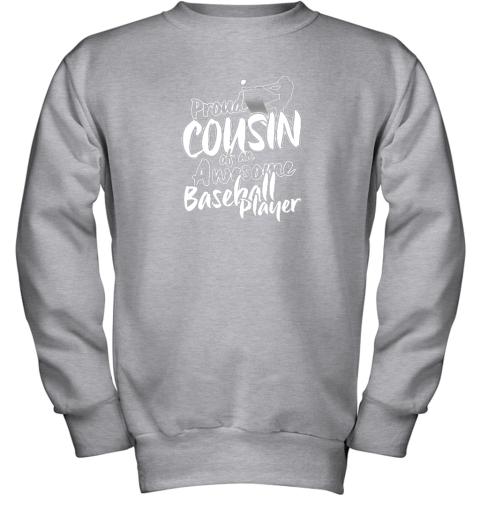 myq7 cousin baseball shirt sports for men accessories youth sweatshirt 47 front sport grey