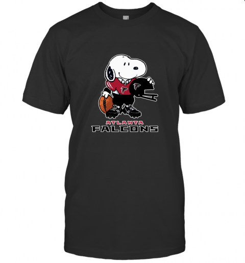 Snoopy A Strong And Proud Atlanta Falcons NFL T-Shirt