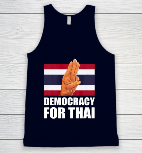 Democracy for Thailand Free Thai Protest Bangkok Support Tank Top 2