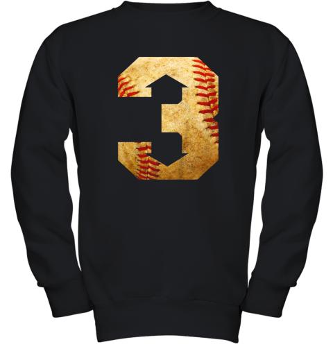 Three Up Three Down Baseball 3 Up 3 Down Youth Sweatshirt
