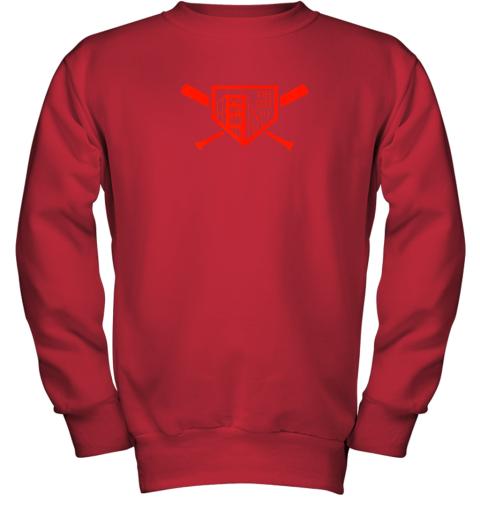 wsxy cool san francisco baseball the city bridge sfo youth sweatshirt 47 front red