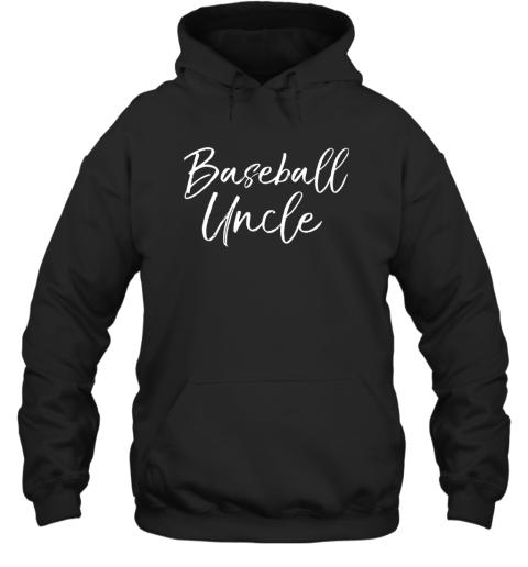 Baseball Uncle Shirt for Men Cool Baseball Uncle Hoodie
