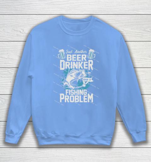 Beer Lover Funny Shirt Fishing ANd Beer Sweatshirt 8