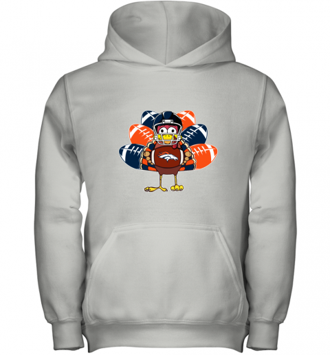 Denver Broncos  Thanksgiving Turkey Football NFL Youth Hoodie