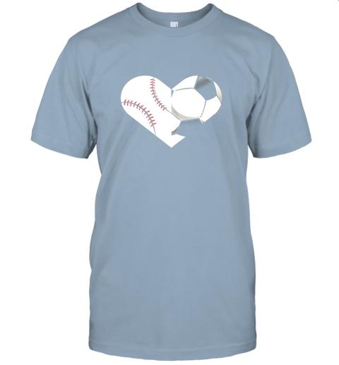 lbed soccer baseball heart sports tee baseball soccer jersey t shirt 60 front light blue