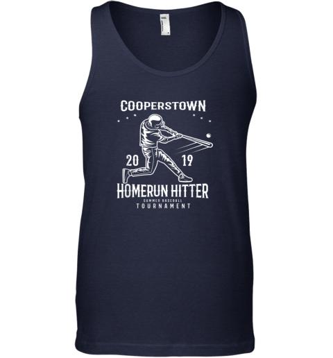 ixo1 cooperstown home run hitter unisex tank 17 front navy