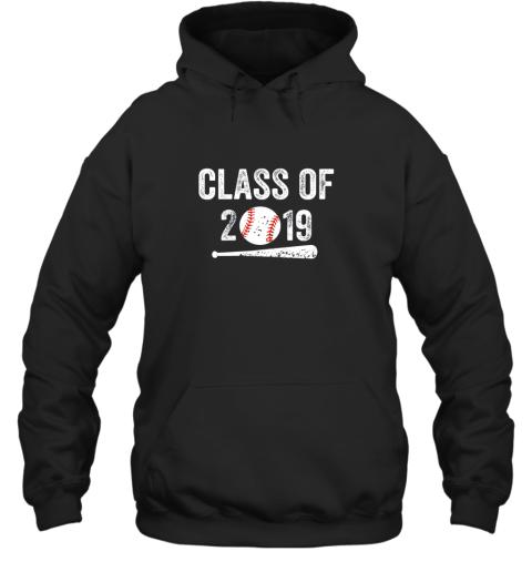 Class of 2019 Vintage Shirt Graduation Baseball Gift Senior Hoodie