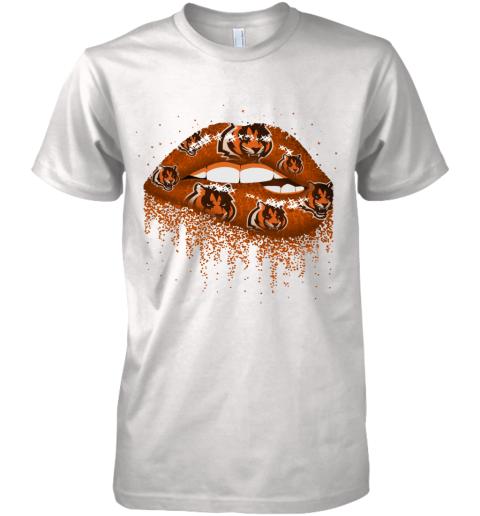 Sexy  Lips Cincinnati Bengals NFL Premium Men's T-Shirt
